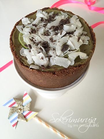 lime-suklaakakku